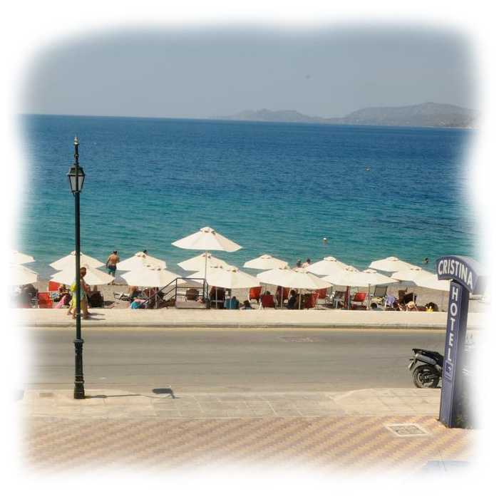 hotel-cristina-maris-loutraki-beach-area